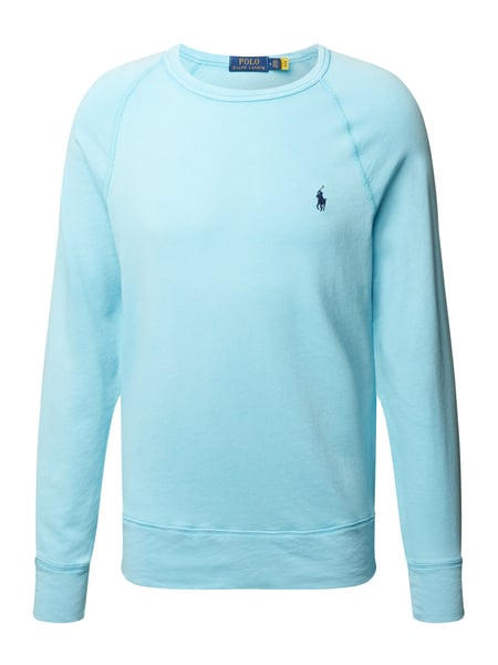 Polo Ralph Lauren Sweatshirt mit Label-Stitching Blau - 1