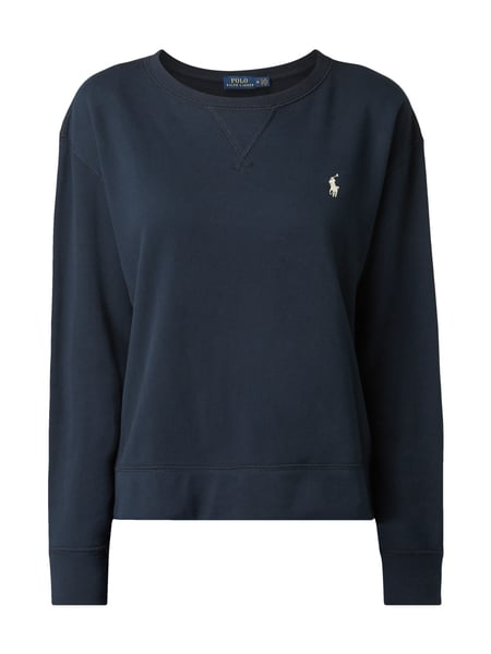 Polo Ralph Lauren Sweatshirt mit Logo-Stickerei Marineblau