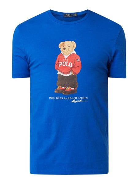 Polo Ralph Lauren T-Shirt mit Polo Bear-Print Blau - 1