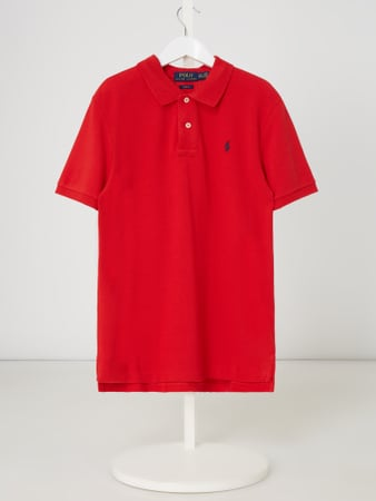 Ralph Lauren Childrenswear Custom Fit Poloshirt aus Piqué Rot - 1