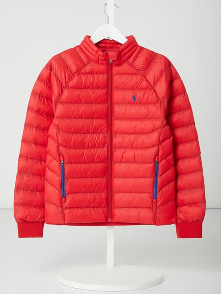 Polo Ralph Lauren Childrenswear Light-Steppjacke aus recyceltem Nylon - wattiert Rot - 1