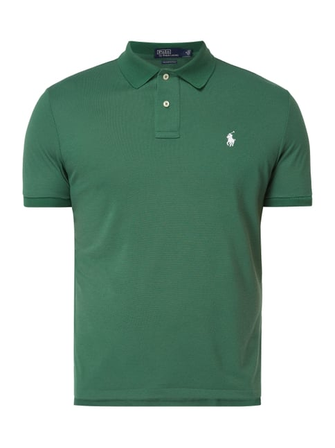 991785ec695308 Polo Ralph Lauren  The Earth Polo  aus recyceltem Polyester Grün ...
