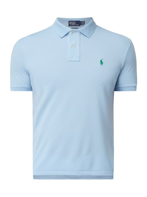 6242be2f92ce2c Polo Ralph Lauren  The Earth Polo  aus recyceltem Polyester Blau   Türkis -  1
