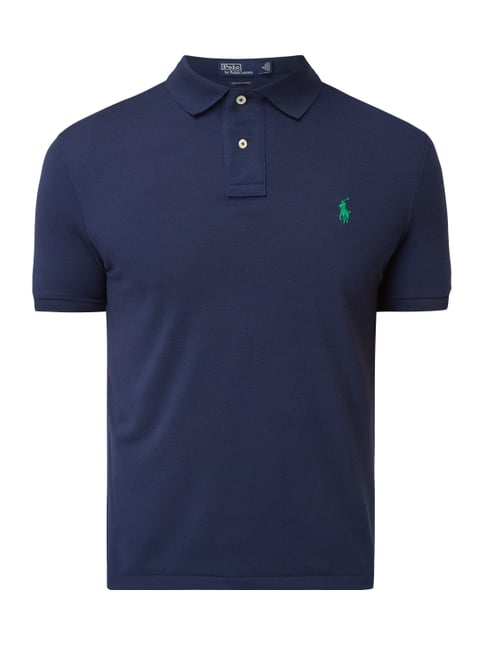 97d46442fc94ea Polo Ralph Lauren  The Earth Polo  aus recyceltem Polyester Blau   Türkis  ...
