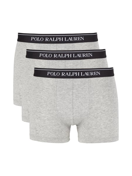 Polo Ralph Lauren Underwear Trunks im 3er-Pack Mittelgrau
