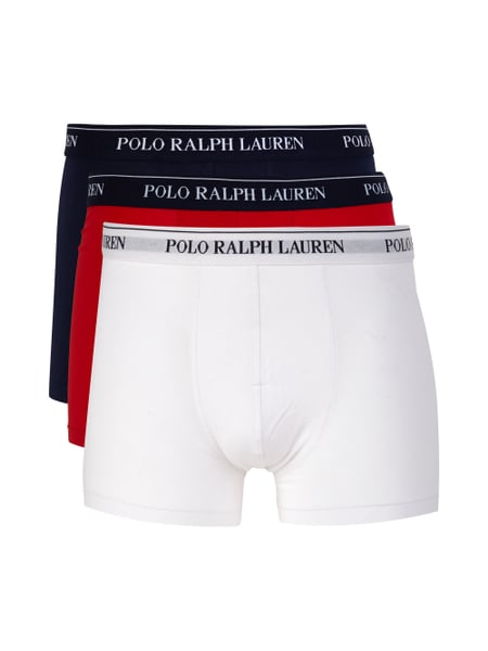 Polo Ralph Lauren Underwear Trunks im 3er-Pack Rot - 1