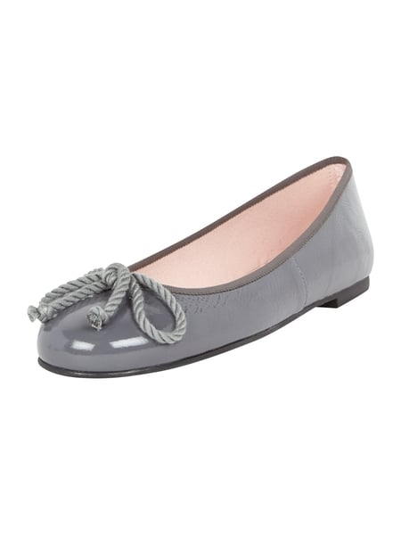 timeless design 0cf46 be52f PRETTY-BALLERINAS Ballerinas in Lack-Optik in Grau / Schwarz ...