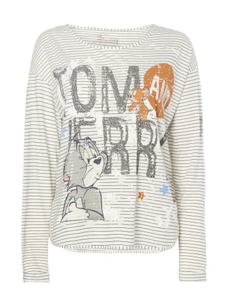 Longsleeve mit Tom and Jerry™-Print Weiß - 1