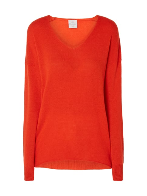 Princess Goes Hollywood Pullover aus Kaschmir Orange - 1 ... f0690523ca