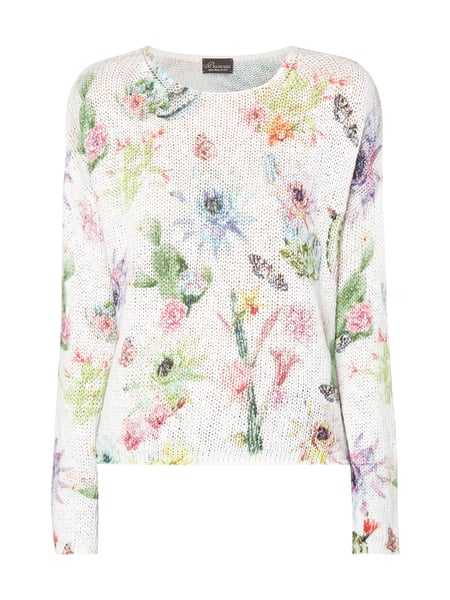 Princess Goes Hollywood Pullover mit Allover-Muster Weiß