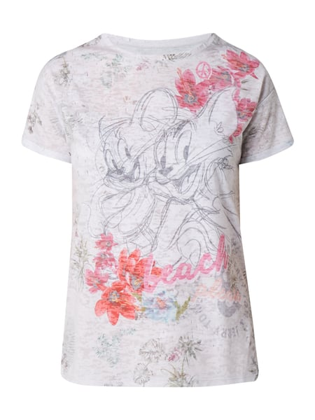 Princess Goes Hollywood T-Shirt mit Tom & Jerry™-Print Hellgrau