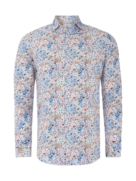 buy popular a4d59 3e48c PROFUOMO Slim Fit Hemd mit floralem Muster in Weiß online ...