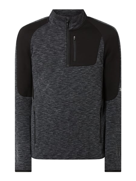 PUMA PERFORMANCE Slim Fit Troyer aus Sweat Schwarz - 1