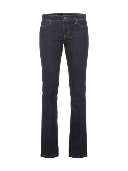Rinsed Washed Flared Cut Jeans Blau / Türkis - 1
