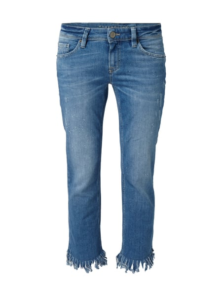 Raffaello Rossi Sinty Cropped Fr - Slim Fit Jeans im Used Look Jeans