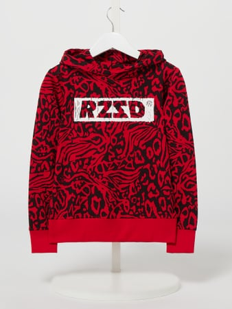 Raizzed Hoodie mit Stretch-Anteil Modell 'Perth' Rot - 1