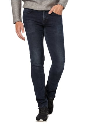 Redefined Rebel Skinny Fit 5-Pocket-Jeans Dunkelblau - 1