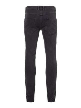 Redefined Rebel Skinny Fit 5-Pocket-Jeans Dunkelgrau - 1