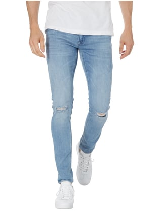 Redefined Rebel Slim Fit Jeans im Destroyed Look Jeans - 1