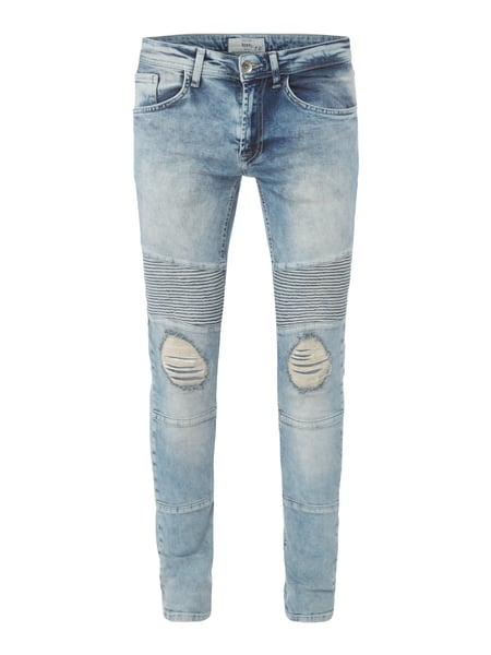 Redefined Rebel Slim Fit Jeans im Destroyed Look Jeans