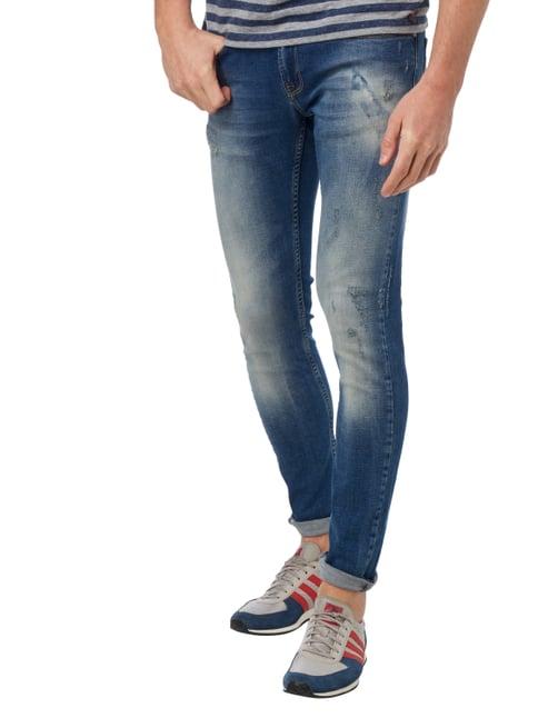 Redefined Rebel Slim Fit Jeans im Used Look Jeans - 1