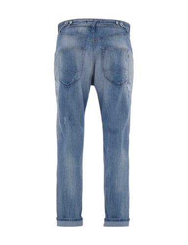 Rückansicht von Replay - Alt_Dused-look-jeans in Jeans - 1