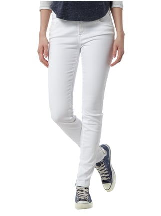Replay Skinny Fit Jeans aus Coloured Denim Weiß - 1