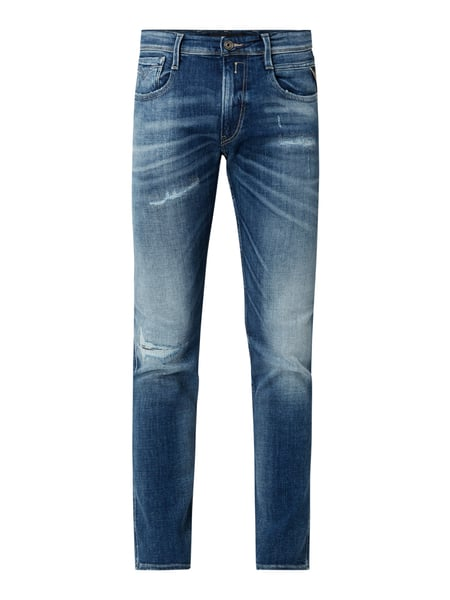 Replay – Slim Fit Jeans mit Stretch Anteil – Jeans