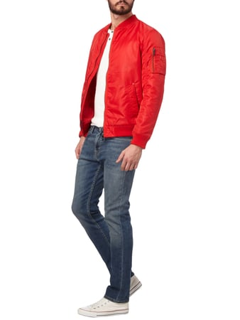 REVIEW Bomber mit Wattierung in Rot - 1