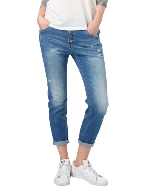 REVIEW Boyfriend Fit Jeans im Destroyed Look Jeans - 1