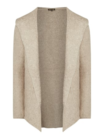 REVIEW Cardigan mit Kapuze Beige - 1