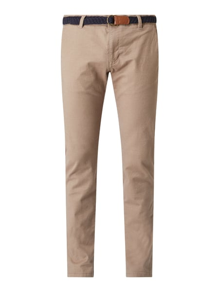 REVIEW Chino mit Stretch-Anteil Beige - 1