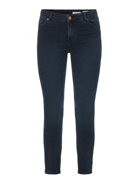 Coloured High Waist Jeans Blau / Türkis - 1