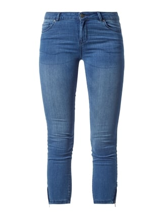 Coloured Skinny Fit Jeans Blau / Türkis - 1