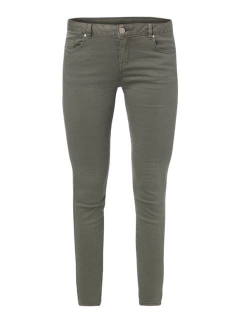 Coloured Skinny Fit Jeans Grün - 1