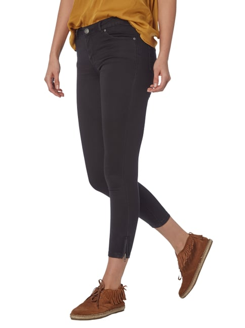 REVIEW Coloured Skinny Fit Jeans Schwarz - 1