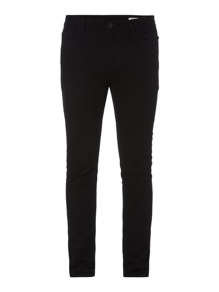 REVIEW Coloured Skinny Fit Jeans Schwarz
