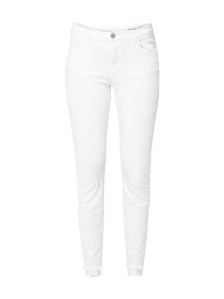 REVIEW Coloured Skinny Fit Jeans Weiß