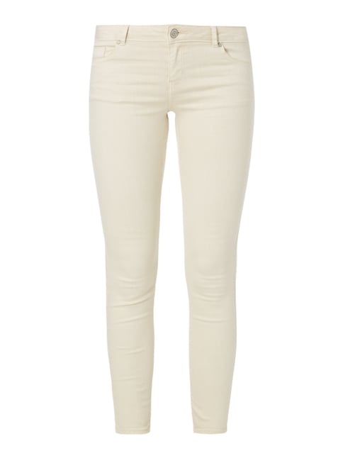 Coloured Skinny Jeans Weiß - 1