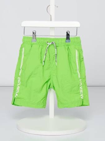 Review for Kids Badeshorts mit Logo-Prints Grün - 1