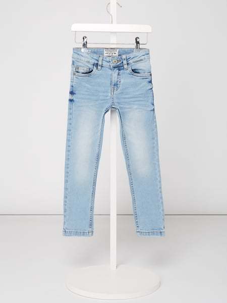 Review for Kids Bleached Slim Fit Jeans Blau / Türkis - 1