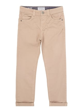 Coloured Slim Fit 5-Pocket-Jeans Weiß - 1