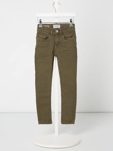 Review for Kids Coloured Slim Fit Jeans mit Stretch-Anteil Grün - 1