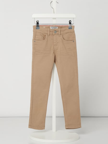 Review for Kids Coloured Slim Fit Jeans mit Weitenregulierung Beige - 1