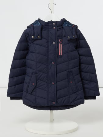 Review for Kids Daunenjacke mit abnehmbarer Kapuze Blau - 1