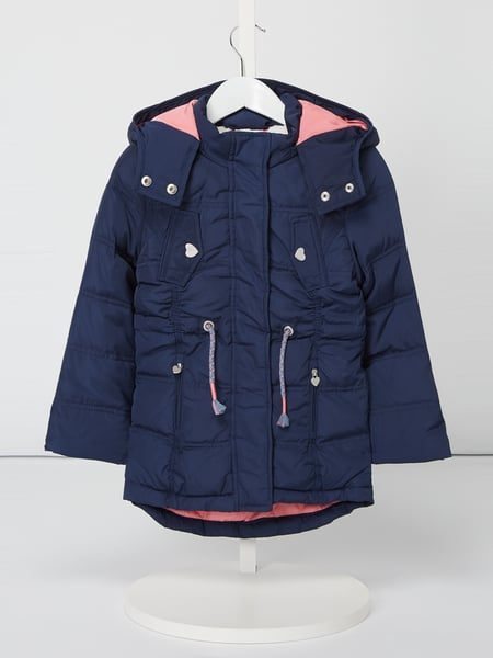 Review for Kids Daunenjacke mit Kapuze Blau / Türkis - 1
