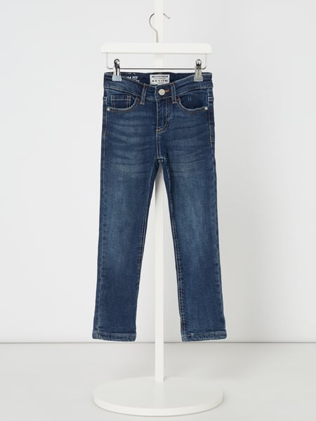 Review for Kids Gefütterte Slim Fit Jeans mit Label-Patch Blau - 1