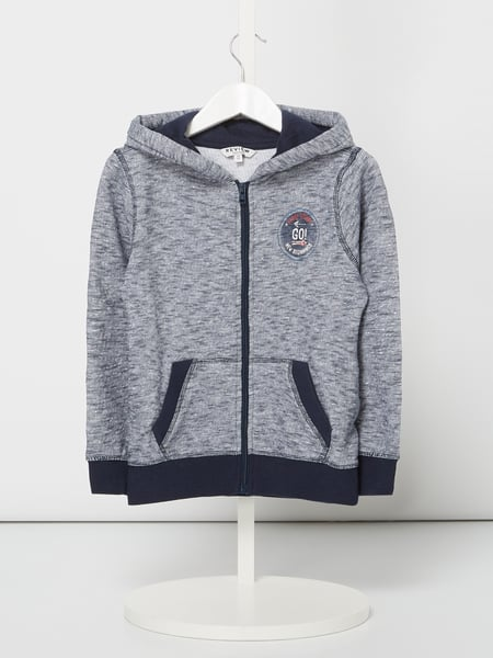 Review for Kids Hoodie aus reiner Baumwolle Blau - 1