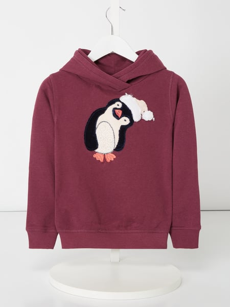 Review for Kids Hoodie mit Pinguin-Stickerei Lila - 1