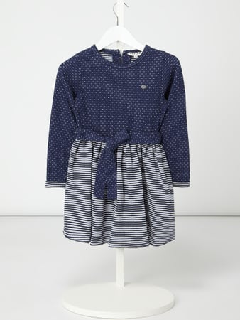 Review for Kids Kleid mit Taillengürtel Blau - 1